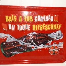 Coleccionismo de Coca-Cola y Pepsi: BANDEJA COCACOLA COCA COLA A ESTRENAR. Lote 137227737