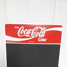 Coleccionismo de Coca-Cola y Pepsi: PIZARRA DE BAR COCACOLA COCA COLA COKE AÑOS 80. Lote 235013865