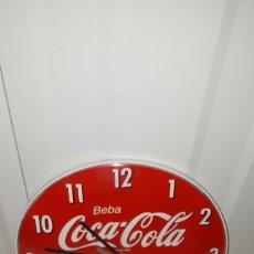 Coleccionismo de Coca-Cola y Pepsi: RELOJ DE PARED PLASTICO COCACOLA COCA COLA A ESTRENAR. Lote 137236010