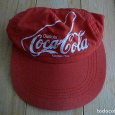 Coleccionismo de Coca-Cola y Pepsi: GORRA DE COCA-COLA. COCA COLA. VINTAGE.. Lote 137459038