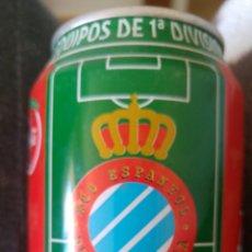 Coleccionismo de Coca-Cola y Pepsi: LATA COCA-COLA- LIGA 96-97- R.C.D ESPANYOL. Lote 137898125