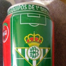 Coleccionismo de Coca-Cola y Pepsi: LATA COCA-COLA- LIGA 96-97- REAL BETIS BALOMPIE. Lote 137898800