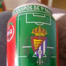 Coleccionismo de Coca-Cola y Pepsi: LATA COCA-COLA- LIGA 96-97- REAL VALLADOLID. Lote 158854902