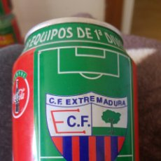 Coleccionismo de Coca-Cola y Pepsi: LATA COCA-COLA- LIGA 96-97- C.F. EXTREMADURA. Lote 137899474