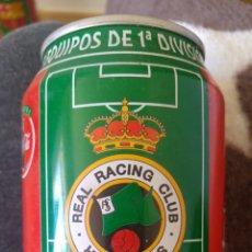 Coleccionismo de Coca-Cola y Pepsi: LATA COCA-COLA- LIGA 96-97- REAL RACING CLUB SANTANDER. Lote 137900018