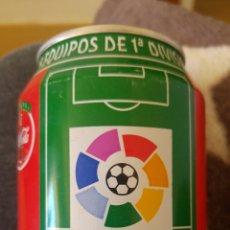 Coleccionismo de Coca-Cola y Pepsi: LATA COCA-COLA- LIGA 96-97- LFP. Lote 137900188