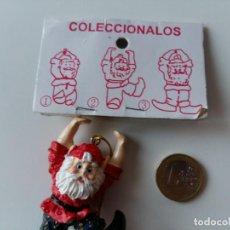 Coleccionismo de Coca-Cola y Pepsi: FIGURITA MUÑECO PAPÁ NOEL SANTA CLAUS - ADORNO NAVIDEÑO - COLECCIÓN COCA COLA - Nº 2. Lote 138113126