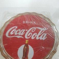 Coleccionismo de Coca-Cola y Pepsi: PLACA COCA COLA SERIE LIMITADA EN METAL. Lote 138559354