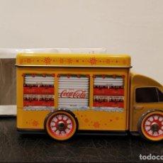 Coleccionismo de Coca-Cola y Pepsi: CAJA CAMIÓN LATA COCA COLA NAVIDAD - COCACOLA - SANTA CLAUS - PAPA NOEL. Lote 138607174