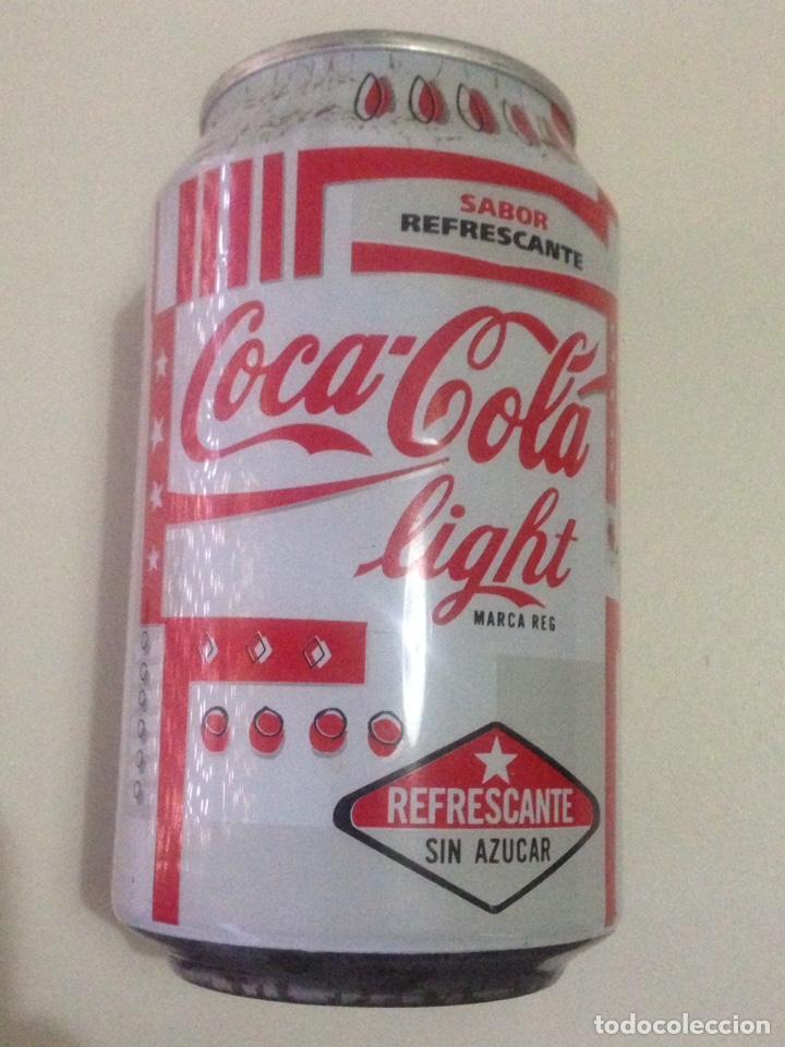 LATA DE COCA-COLA LIGHT,AÑOS 90. (Coleccionismo - Botellas y Bebidas - Coca-Cola y Pepsi)