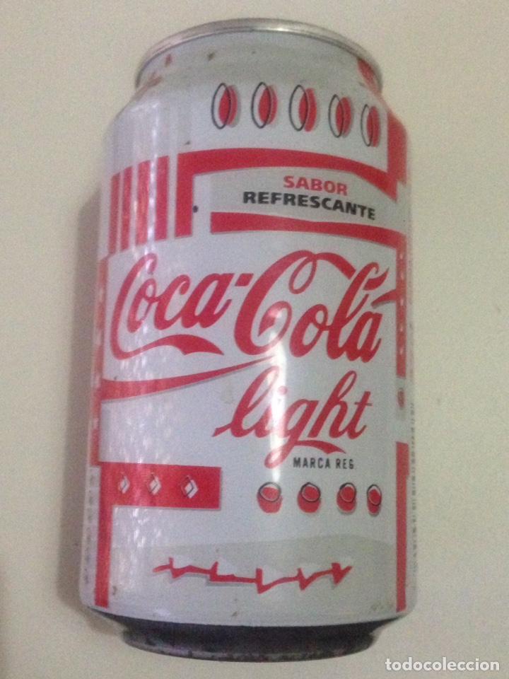 Coleccionismo de Coca-Cola y Pepsi: Lata de coca-cola light,años 90. - Foto 2 - 138863161