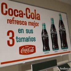 Coleccionismo de Coca-Cola y Pepsi: ANTIGUO BOTELLERO COCA-COLA METÁLICO DE COLMADO ULTRAMARINOS. EXCELENTE ESTADO. Lote 138891402