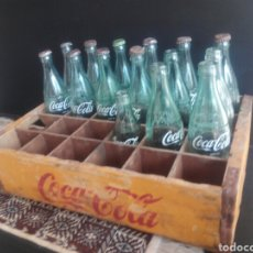 Coleccionismo de Coca-Cola y Pepsi: EXCLUSIVO LOTE DE 26 PIEZAS COCA-COLA AÑOS 60/70. Lote 139506761