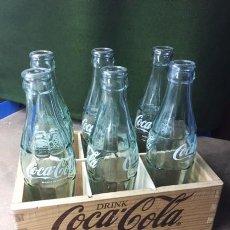 Coleccionismo de Coca-Cola y Pepsi: CAJA DE MADERA DE COCA COLA DE LOS AÑOS 1970.. Lote 139901486