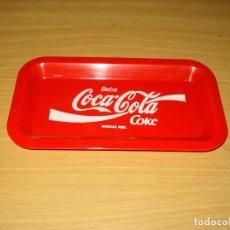 Coleccionismo de Coca-Cola y Pepsi: COCA-COLA COKE BANDEJA PLASTICO PEQUEÑA PARA APERITIVOS. Lote 140154198