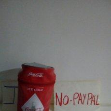 Coleccionismo de Coca-Cola y Pepsi: FUNDA NEVERA ISOTERMICA LATA COCA COLA. Lote 140520485
