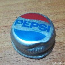 Coleccionismo de Coca-Cola y Pepsi: ANTIGUO TAPÓN METÁLICO ROSCA PEPSI. Lote 140527222