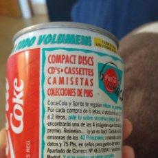 Coleccionismo de Coca-Cola y Pepsi: LATA COCA-COLA AÑOS 90- 40 PRINCIPALES. Lote 159694082
