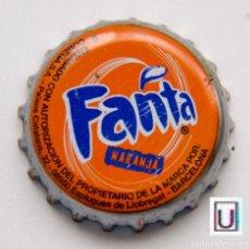 Coleccionismo de Coca-Cola y Pepsi: TAPÓN CORONA - CHAPA - ESPAÑA (BARCELONA) - ESPLÚGUES DE LL. - REFRESCO - FANTA NARANJA. Lote 141842406