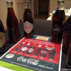 Coleccionismo de Coca-Cola y Pepsi: COLECCION COCA-COLA REPLICAS DE LOS 120 AÑOS. Lote 141960702