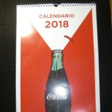 Coleccionismo de Coca-Cola y Pepsi: CALENDARIO COCA COLA 2018. Lote 141969442