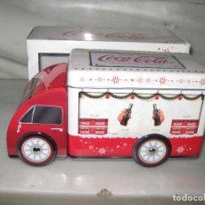 Coleccionismo de Coca-Cola y Pepsi: CAMION CHAPA DE COCA COLA. Lote 142094974