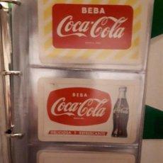 Coleccionismo de Coca-Cola y Pepsi: COCA-COLA COLECCIÓN CALENDARIOS FOURNIER. DE 1959 A 1996. MÁS OTROS AÑOS EXTRAS. CON ALBUM. Lote 142753934