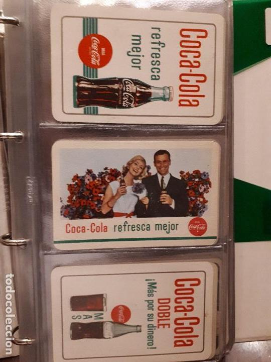 Coleccionismo de Coca-Cola y Pepsi: Coca-Cola Colección Calendarios Fournier. De 1959 a 1996. Más otros años extras. Con album - Foto 3 - 142753934