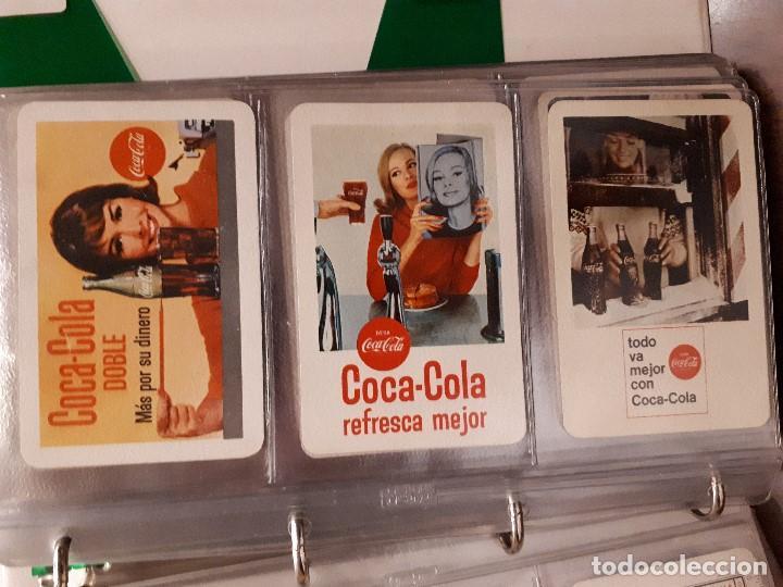 Coleccionismo de Coca-Cola y Pepsi: Coca-Cola Colección Calendarios Fournier. De 1959 a 1996. Más otros años extras. Con album - Foto 5 - 142753934