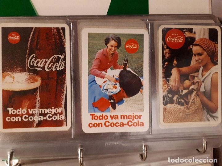 Coleccionismo de Coca-Cola y Pepsi: Coca-Cola Colección Calendarios Fournier. De 1959 a 1996. Más otros años extras. Con album - Foto 7 - 142753934