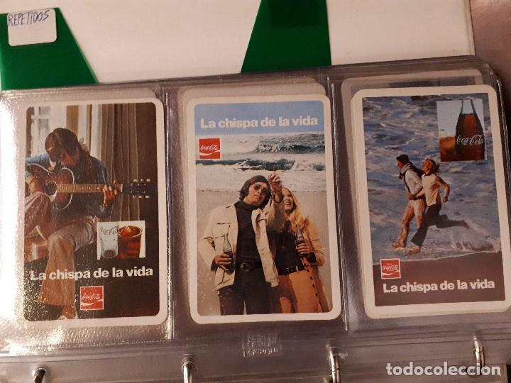 Coleccionismo de Coca-Cola y Pepsi: Coca-Cola Colección Calendarios Fournier. De 1959 a 1996. Más otros años extras. Con album - Foto 9 - 142753934