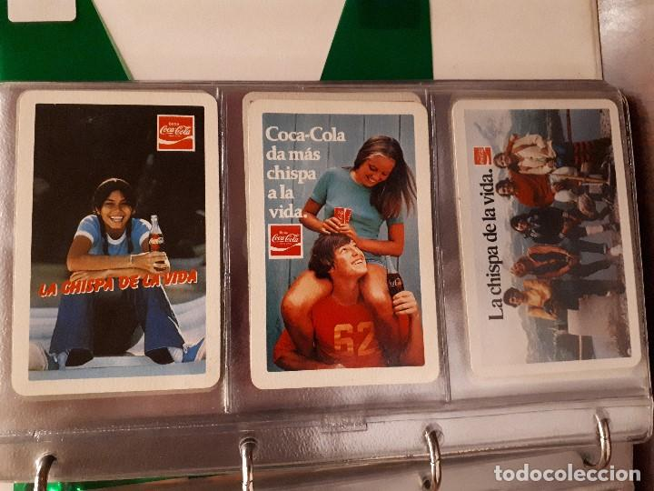 Coleccionismo de Coca-Cola y Pepsi: Coca-Cola Colección Calendarios Fournier. De 1959 a 1996. Más otros años extras. Con album - Foto 13 - 142753934