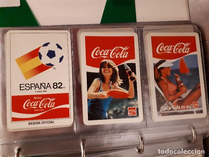 Coleccionismo de Coca-Cola y Pepsi: Coca-Cola Colección Calendarios Fournier. De 1959 a 1996. Más otros años extras. Con album - Foto 17 - 142753934