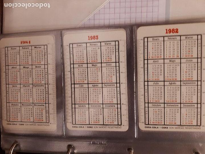 Coleccionismo de Coca-Cola y Pepsi: Coca-Cola Colección Calendarios Fournier. De 1959 a 1996. Más otros años extras. Con album - Foto 18 - 142753934