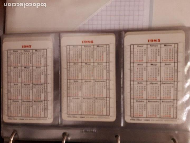 Coleccionismo de Coca-Cola y Pepsi: Coca-Cola Colección Calendarios Fournier. De 1959 a 1996. Más otros años extras. Con album - Foto 20 - 142753934