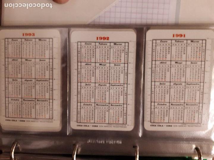 Coleccionismo de Coca-Cola y Pepsi: Coca-Cola Colección Calendarios Fournier. De 1959 a 1996. Más otros años extras. Con album - Foto 24 - 142753934