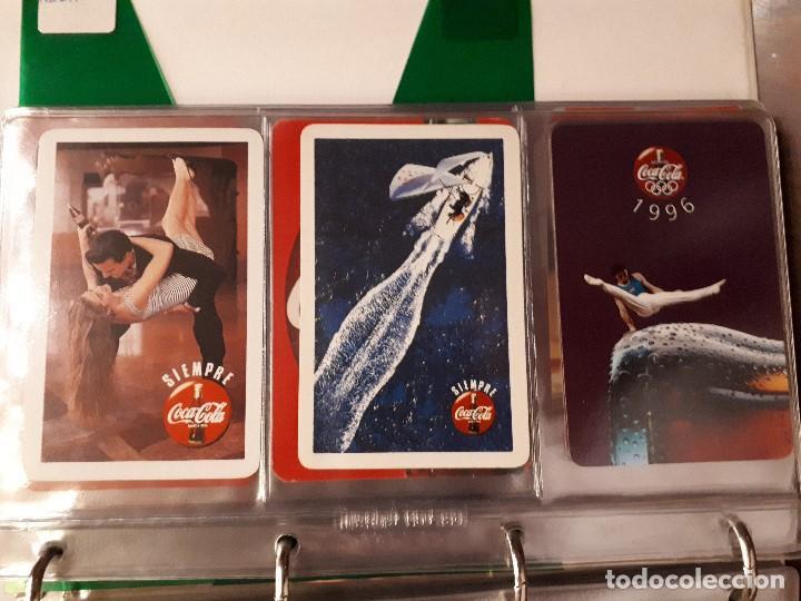 Coleccionismo de Coca-Cola y Pepsi: Coca-Cola Colección Calendarios Fournier. De 1959 a 1996. Más otros años extras. Con album - Foto 25 - 142753934
