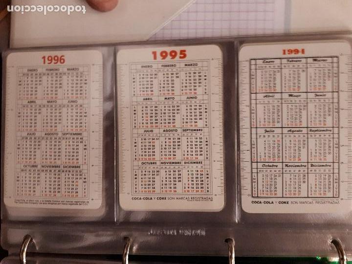 Coleccionismo de Coca-Cola y Pepsi: Coca-Cola Colección Calendarios Fournier. De 1959 a 1996. Más otros años extras. Con album - Foto 26 - 142753934