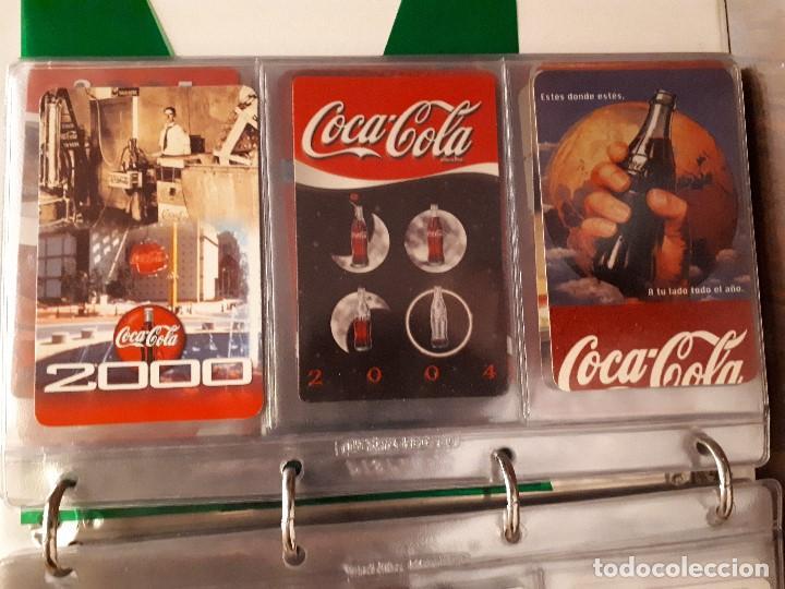 Coleccionismo de Coca-Cola y Pepsi: Coca-Cola Colección Calendarios Fournier. De 1959 a 1996. Más otros años extras. Con album - Foto 29 - 142753934