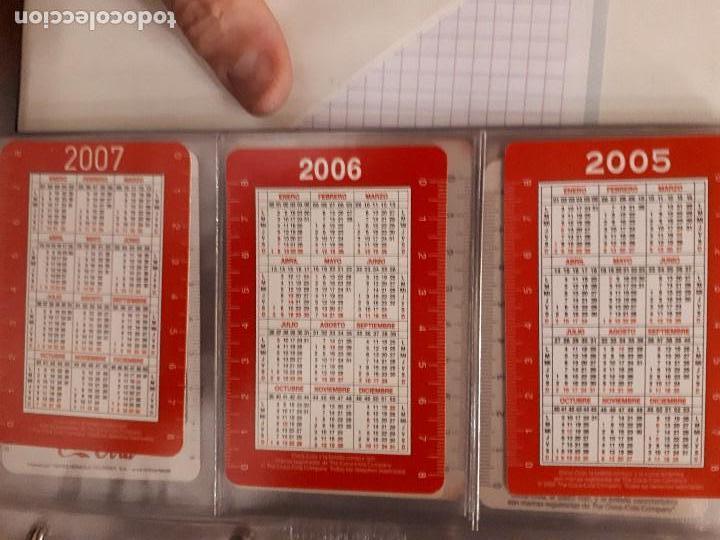 Coleccionismo de Coca-Cola y Pepsi: Coca-Cola Colección Calendarios Fournier. De 1959 a 1996. Más otros años extras. Con album - Foto 35 - 142753934