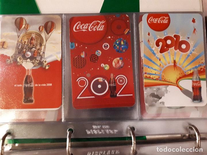 Coleccionismo de Coca-Cola y Pepsi: Coca-Cola Colección Calendarios Fournier. De 1959 a 1996. Más otros años extras. Con album - Foto 36 - 142753934