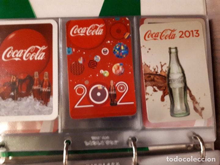 Coleccionismo de Coca-Cola y Pepsi: Coca-Cola Colección Calendarios Fournier. De 1959 a 1996. Más otros años extras. Con album - Foto 39 - 142753934