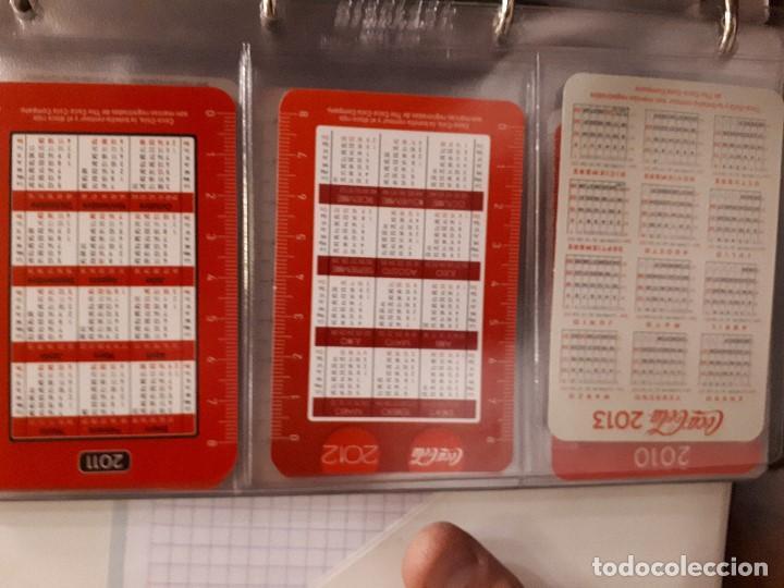 Coleccionismo de Coca-Cola y Pepsi: Coca-Cola Colección Calendarios Fournier. De 1959 a 1996. Más otros años extras. Con album - Foto 40 - 142753934