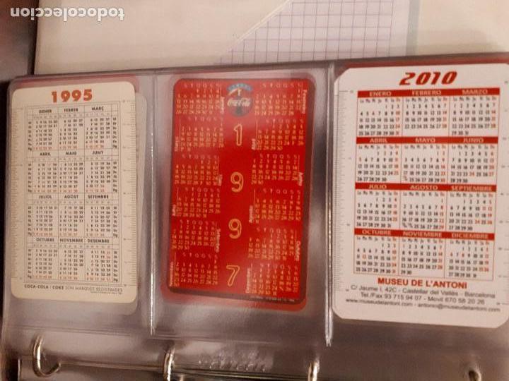 Coleccionismo de Coca-Cola y Pepsi: Coca-Cola Colección Calendarios Fournier. De 1959 a 1996. Más otros años extras. Con album - Foto 43 - 142753934
