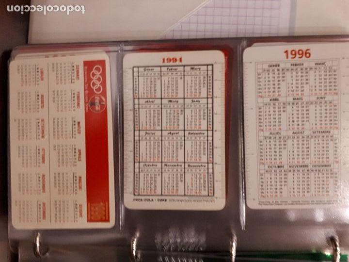 Coleccionismo de Coca-Cola y Pepsi: Coca-Cola Colección Calendarios Fournier. De 1959 a 1996. Más otros años extras. Con album - Foto 45 - 142753934