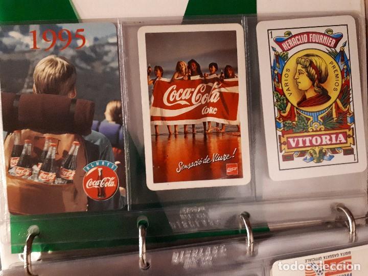 Coleccionismo de Coca-Cola y Pepsi: Coca-Cola Colección Calendarios Fournier. De 1959 a 1996. Más otros años extras. Con album - Foto 49 - 142753934