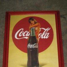 Coleccionismo de Coca-Cola y Pepsi: CUADRO COCA COLA. 42CM POR 34CM.. Lote 142760578