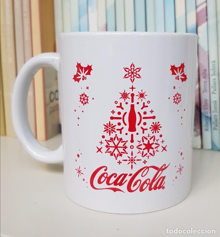 TAZA DE DESAYUNO DE COCA-COLA. EDICION NAVIDAD (Coleccionismo - Botellas y Bebidas - Coca-Cola y Pepsi)