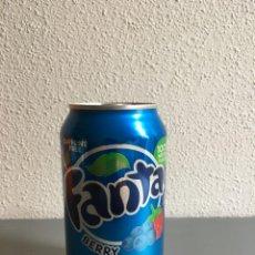 Coleccionismo de Coca-Cola y Pepsi: LATA FANTA ARÁNDANOS DE USA SIN ABRIR. Lote 143246650