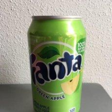 Coleccionismo de Coca-Cola y Pepsi: LATA FANTA MANZANA VERDE DE USA SIN ABRIR. Lote 143246866